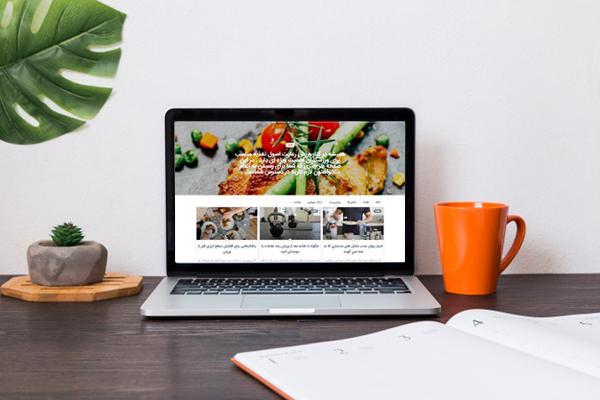 طراحی سایت آکادمی فیتنس